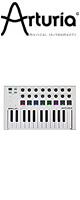 ■ご予約受付■ Arturia(アートリア) / MINILAB MK2 (WHITE) MIDIコントローラー 【Analog Lab Lite / Ableton Live Lite / UVI Grand Piano Model D バンドル】 1大特典セット
