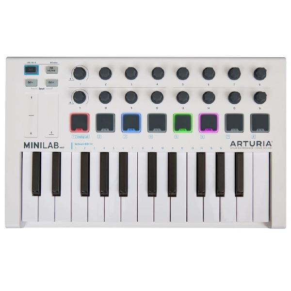Arturia(アートリア) / MINILAB MKII - MIDIコントローラー - 【ソフトウェアが3つもバンドル】