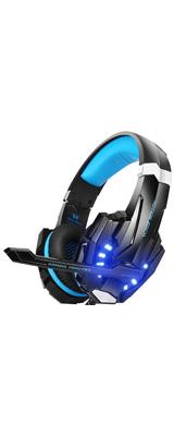 BENGOO / G9000 (Blue) - PS4対応 ゲーミングヘッドセット - 1大特典セット
