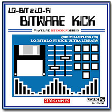 WAVELINEサンプリングCD / BITWARE KICK/LO-BIT&LO-FI KICK ULTRA LIBRARY [CD-R]