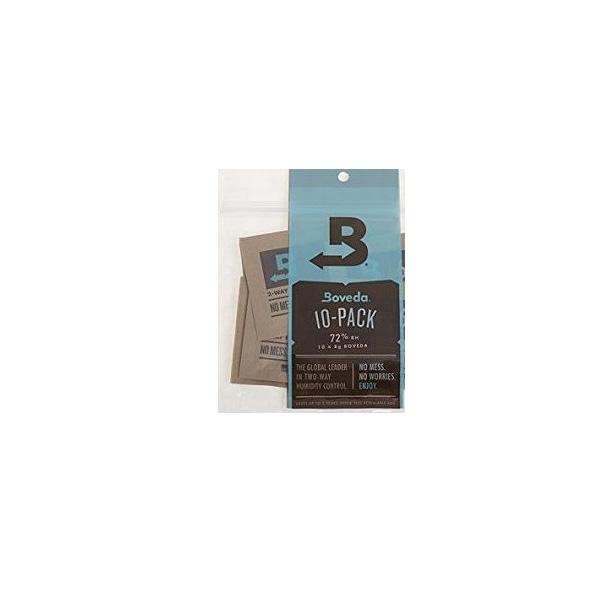 BOVEDA(ボヴェダ) / B72 72% 8グラム 10パック  - 木管楽器のリード用 湿度調整剤 リードヴァイタライザー -
