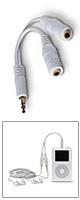 Belkin(ベルキン) /  3.5-mm ヘッドホンスプリッター F8V234-WHT-APL