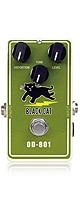 Black Cat(ブラックキャット) / OD-801 -ファズ- 《ギターエフェクター》 ■限定セット内容■→ 【・パッチケーブル(KLL15) 】