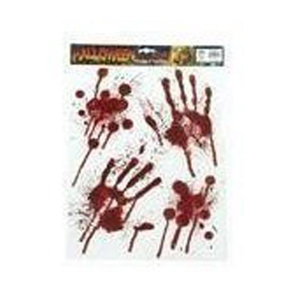 血の手形&血痕シート - ハロウィングッズ -