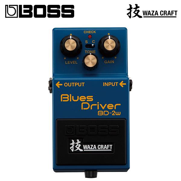 Boss(ボス) / BD-2W Blues Driver (WAZA CRAFT) - オーバードライブ 《ギターエフェクター》