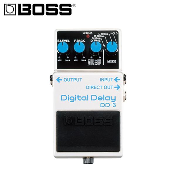 【タイムセール限定1台】Boss(ボス) /  Digital Delay DD-3 - デジタル・ディレイ 《ギターエフェクター》の商品レビュー評価はこちら