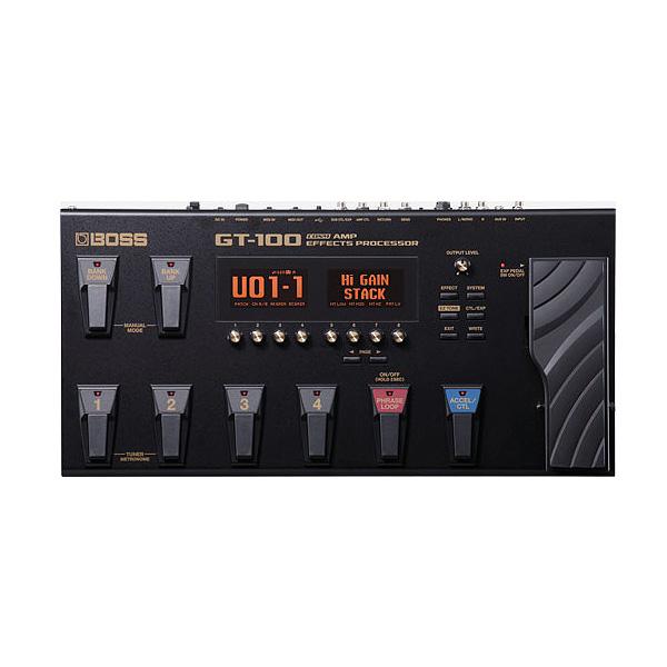 【タイムセール限定1台】Boss(ボス) / GT-100 - ギター・マルチエフェクター-の商品レビュー評価はこちら