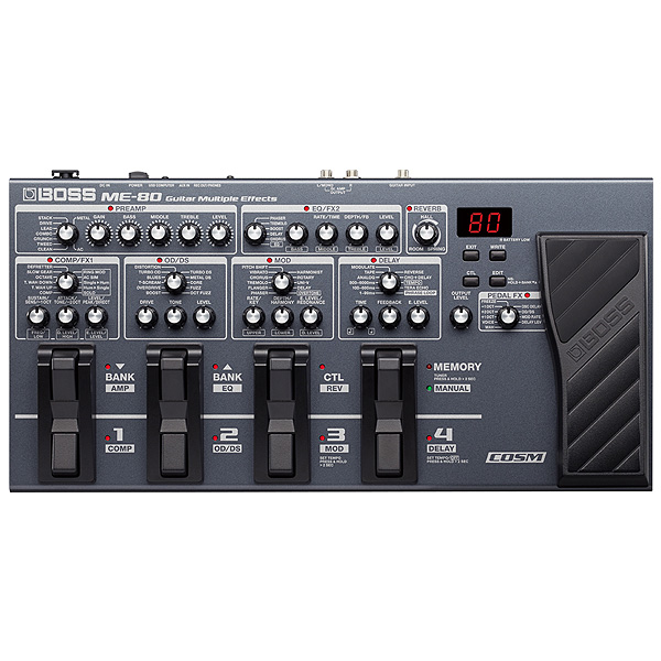 Boss(ボス) / ME-80 Guitar Multiple Effects -マルチエフェクター- 《ギターエフェクター》