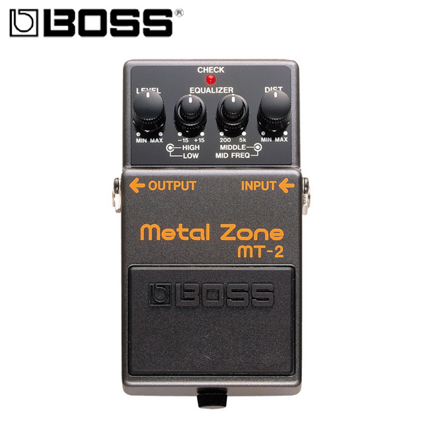 Boss(ボス) / MT-2 Metal Zone 《ギターエフェクター》