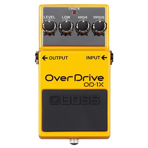 Boss(ボス) / OD-1X -オーバードライブ- 《ギターエフェクター》