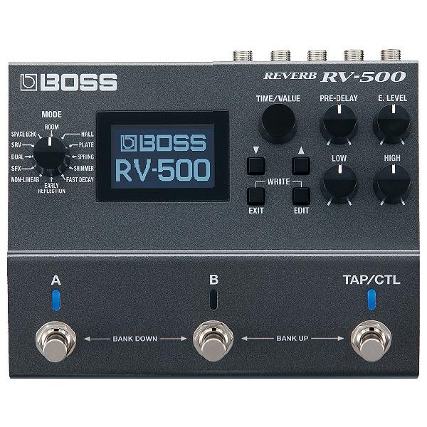 Boss(ボス) / RV-500 REVERB - ハイエンド・リバーブ・ペダル -