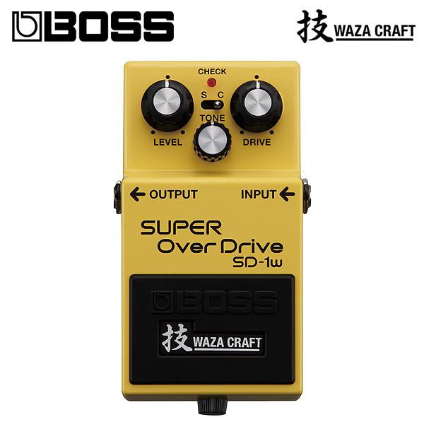 Boss(ボス) / SD-1W SUPER OverDrive (WAZA CRAFT) - オーバードライブ 《ギターエフェクター》