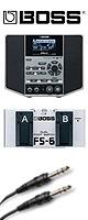 Boss(ボス) / AUDIO PLAYER with GUITAR EFFECTS eBand JS-10 フットスイッチFS-6セット - ギタリスト用オーディオプレイヤー - 1大特典セット