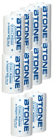 [単一電池変換] Btone / AA to D adapter -  電池スペーサー - 【10コ販売】