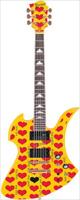 FERNANDES(フェルナンデス) Burny(バーニー) MG-165 HY エレキギター -hideモデル-