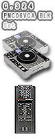 """C.324 & PMC-06ProVCA BLK セット ■限定セット内容■→ 【・ミックスCD作成KIT ・教則DVD ・エレクトロハウス音ネタ ・セッティングマニュアル ・金メッキ高級接続ケーブル 3M 1ペア ・OAタップ ・DJ必需CD 計""""5枚""""】"""