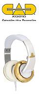 CAD(シー・エー・ディー) / Sessions MH510 GOLD  - ヘッドホン - 1大特典セット