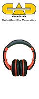 CAD(シー・エー・ディー) / Sessions MH510 (オレンジ) - ヘッドホン - 1大特典セット