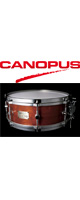 CANOPUS(カノウプス) / 1ply Bubinga Snare Drum SSBG-1455【フィニッシュ/カラー選択可】  【スネアバッグ追加可能】-スネア-