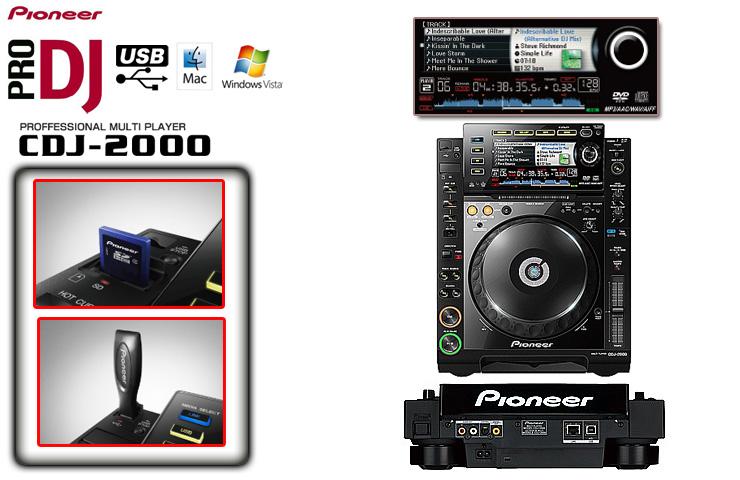 ■最終価格!!■ Pioneer(パイオニア) / CDJ-2000 ■限定セット内容■→ 【・最上級ケーブルBelden 1ペア ・ミックスCD作成KIT 】