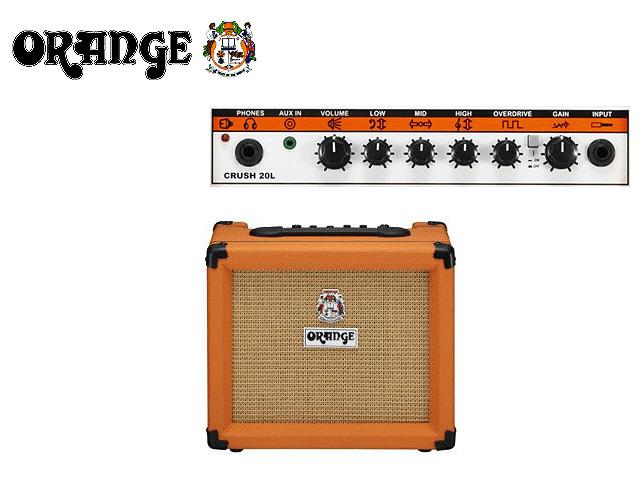 【タイムセール限定1台】ORANGE(オレンジ) / Crush PiX CR20L CR-20L - ギターアンプ -の商品レビュー評価はこちら