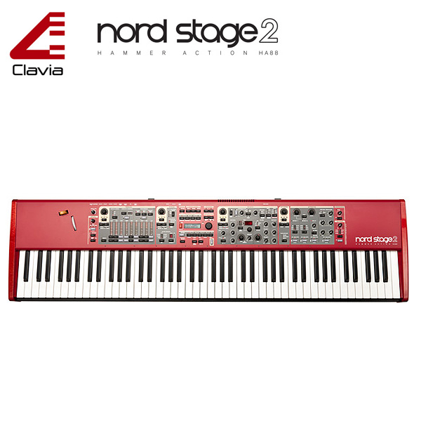 Clavia(クラヴィア) / NORD STAGE 2 HA88 (88鍵盤) 大特典セット