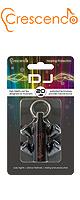 Crescendo(クレシェンド) / DJ - DJ用イヤープラグ - 【イヤープロテクター(高性能耳栓)/遮音レベル:約20dB】 クラブ、ライブ、音楽制作用にもおすすめ