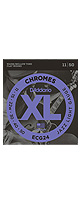 D'Addario(ダダリオ) / ECG24 Chromes Flat Wound, Jazz Light, 11-50 - エレキ弦 5セット販売 -
