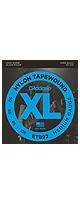 D'Addario(ダダリオ) / ETB92 - ブラックナイロン テープワウンド・エレキベース弦 -