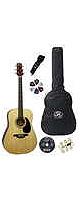 【6点セット】SX アコースティックギターセット DG-150K (NA)