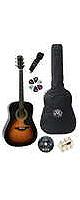 【6点セット】SX アコースティックギターセット DG-150K (VS)