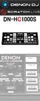 【限定1台】【開封品】Denon(デノン) / DN-HC1000S -Serato DJ、Serato Scratch Live-コントローラー『セール』『DJ機材』