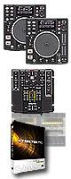 DN-S1200 TRAKTOR PRO DVSセット ■限定セット内容■→ 【・ミックスCD作成KIT ・教則DVD ・OAタップ ・セッティングマニュアル ・USBメモリ2個 ・DN-HP500 】