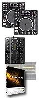 DN-S1200 TRAKTOR PRO DVSセット ■限定セット内容■→ 【・教則DVD ・セッティングマニュアル ・OAタップ ・ミックスCD作成KIT ・USBメモリ2個 ・DN-HP500 】