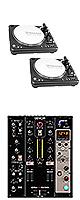 PDX-3000MK2 / DN-X600 set ■限定セット内容■→ 【・教則DVD ・スリップシート ・セッティングマニュアル ・金メッキ高級接続ケーブル 3M 1ペア ・ミックスCD作成KIT ・OAタップ ・DN-HP500 】