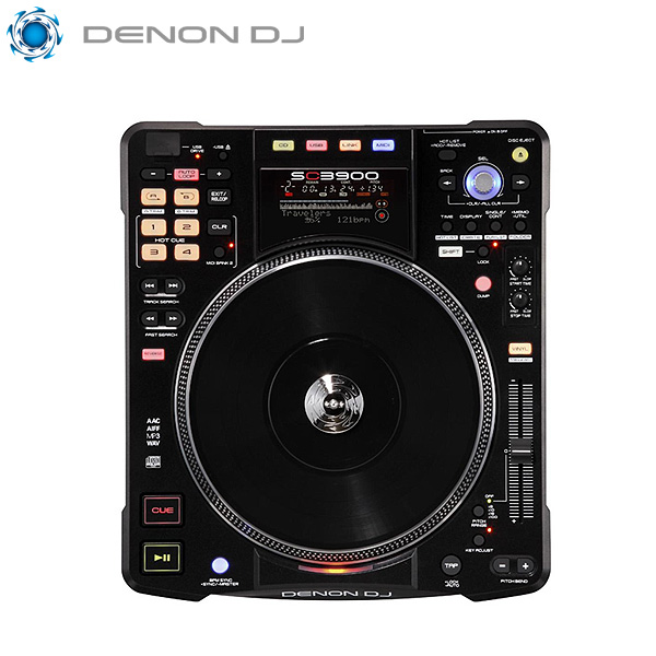 Denon(デノン) / SC3900【 iPad / PCDJ 対応 】次世代 ターンテーブル CDJ ■限定セット内容■→ 【・USBメモリ4GB】