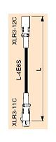 CANARE ( カナレ ) / EC10 BLACK キャノンメス(XLR3-11C) - キャノンオス(XLR3-12C)、10m のマイクケーブル