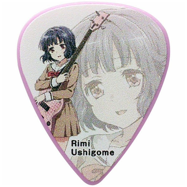 ESP(イーエスピー) /  ESP×バンドリ!Poppin'Party Character Pick  BDP Rimi(AW) - ピック -