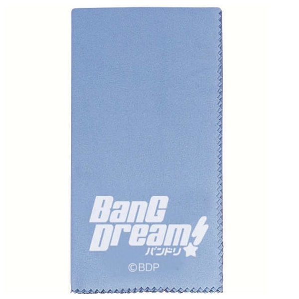 BanG Dream!  /  ESP×バンドリ!Collaboration Series BanG Dream! Cloth CL-8 BDP(Blue) -ギタークロス -