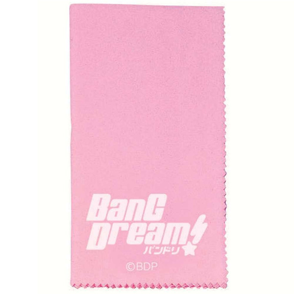 BanG Dream!  /  ESP×バンドリ!Collaboration Series BanG Dream! Cloth  CL-8 BDP(Pink) -ギタークロス  -
