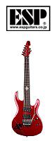 ESP(イーエスピー) /  NoGoD Kyrie Model K7 fleur III( Candy Apple Red ) -  ■限定セット内容■→ 【・クリーニングクロス ・Belden ギターシールド(2m) 】