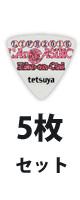 ESP(イーエスピー) / tetsuya Model PA-LT10-2015LArCASINO White -  ピック  - 【5枚販売】