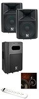 【メインスピーカー2台・サブウーファー】Electro-Voice(エレクトロボイス) / Sx300E ・Sb122のセット 2大特典セット