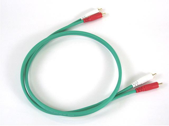 Exform (エクスフォルム) / COLOR TWIN CABLE (カラーツインケーブル) GREEN 1m