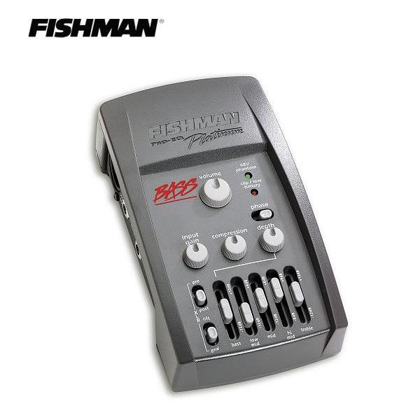 FISHMAN(フィッシュマン) / PRO-EQ PLATINUM BASS LFSHPLTBAS - プロフェッショナル外部プリアンプ ベース用 -