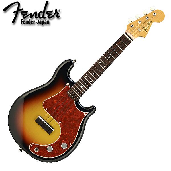 Fender Japan(フェンダ-ジャパン) / FUK-MS 3CS/R -エレクトリック・ウクレレ- 【30本数量限定生産品】