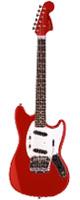 Fender Japan (フェンダ-ジャパン) / Mustang ムスタング MG69/MH RED - エレキギター -