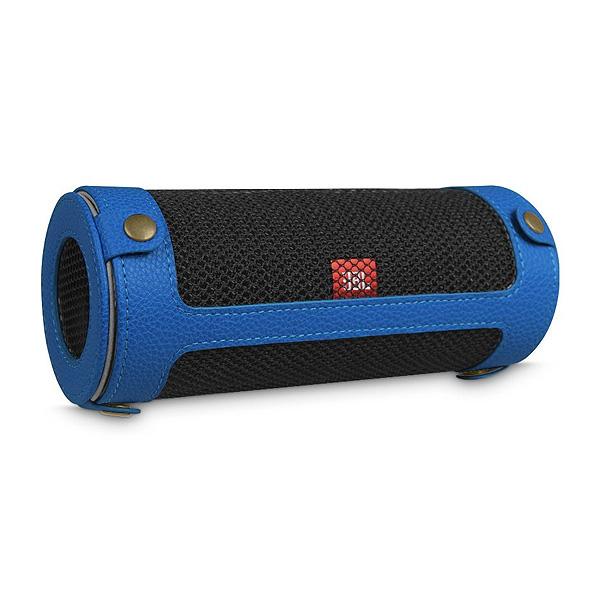Fintie / JBL Flip 4 専用キャリーケース (カラビナ付き) ブルー - スリーブケース