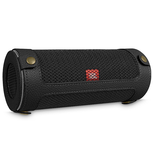 Fintie / JBL Flip 4 専用キャリーケース (カラビナ付き) ブラック - スリーブケース