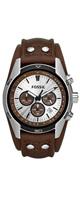 フォッシル(FOSSIL) / Chronograph Tan Leather Watch  CH2565 - 腕時計 -
